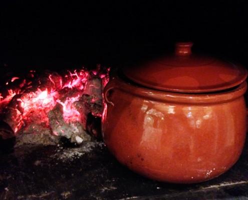 Cocido tradicional en Toledo. Venta de Aires