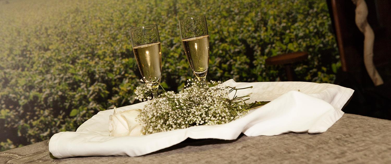 Restaurante especial de bodas en Toledo