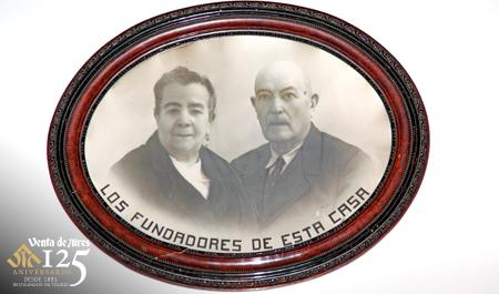 Fundadores del restaurante Venta de Aires