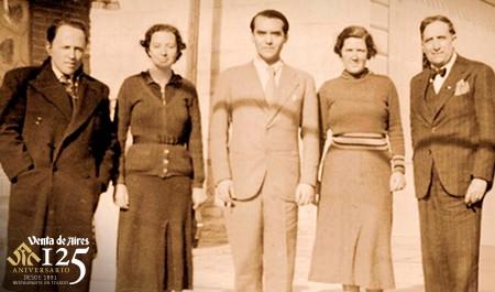 Federico García Lorca en Toledo. Comiendo en Venta de Aires