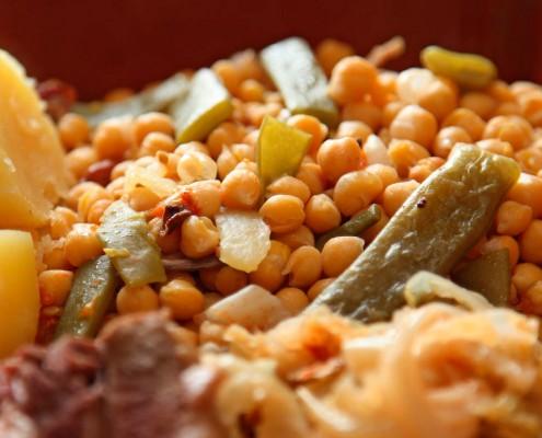 Menú cocido en Toledo