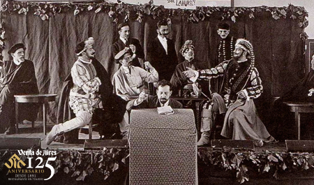 Representación de Don Juan Tenorio en Venta de Aires por la Orden de Toledo