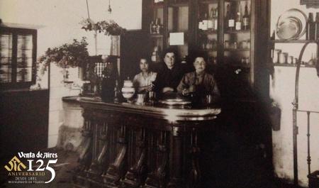 Las tres primeras trabajadoras del Restaurante Venta de Aires
