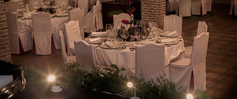 Restaurante para bodas en Toledo