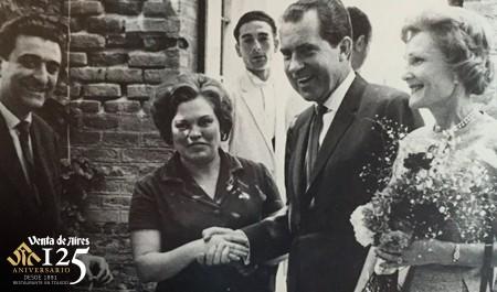 El presidente Nixon en el restaurante de Toledo Venta de Aires