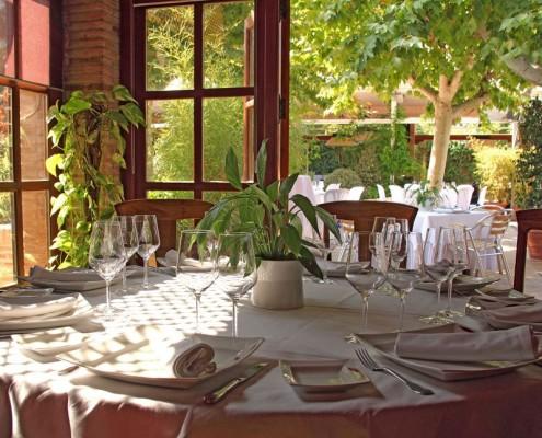 Salón acristalado para bodas en Toledo