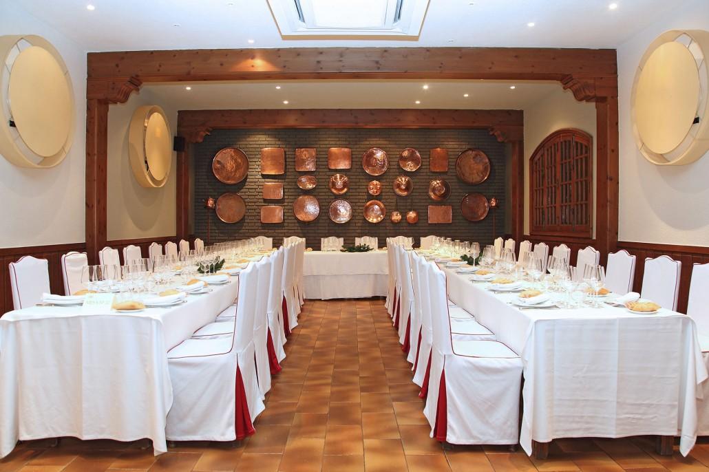 Salón cobre para bodas en Toledo