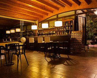 Discoteca o zona lounge del Restaurante Venta de Aires