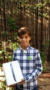 ¡Ya tenemos nuevo ganador del sorteo del iPad de las comuniones 2014!