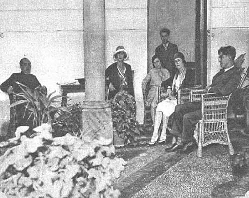 Su alteza la princesa María José de Bélgica en restante de Toledo Venta de Aires