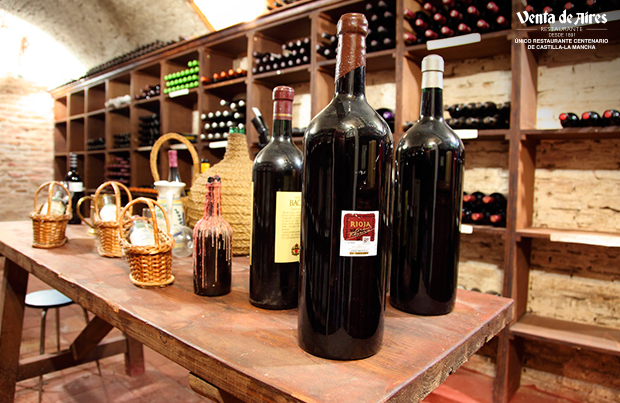 Carta de vino restaurante Toledo