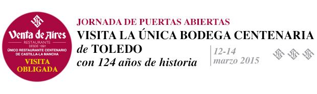 Tomar vinos por Toledo | Venta de Aires