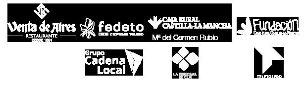 Logos colaboradores cena benéfica Cáritas