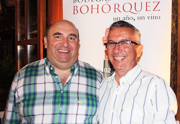 Manuel Sánchez y Luis González