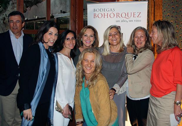 Javier Bohórquez, Cuca Díaz de la Cuerda, Charo Francés, Ana Rodríguez, Mamen Gómez de Vivar, Mar Ovejero, Yayo Gómez de Vivar y Verónica López Scala