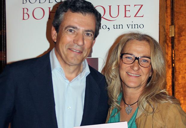 Javier Bohórquez y Mamen Gómez de Vivar