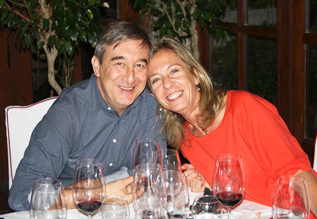 José Luis Humanes y Verónica López Scala