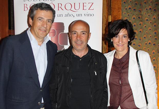 Javier Bohórquez, Luis Moreno y Ruth