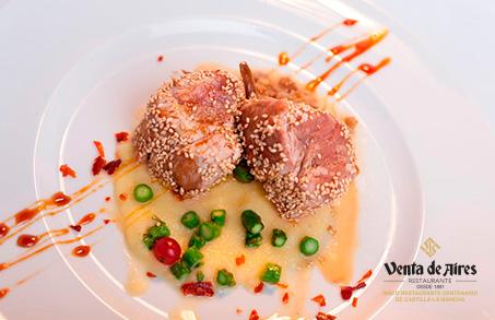 Comer bien en Toledo. Restaurante Venta de Aires