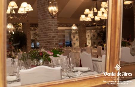 Restaurante para comer bien en Toledo. Venta de Aires