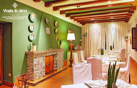 Salón privado para comer en Toledo. Venta de Aires