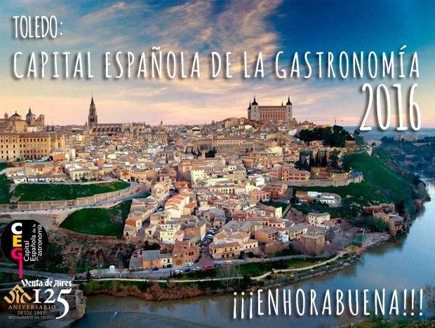 Capital Gastronomía Toledo 2016. Venta de Aires