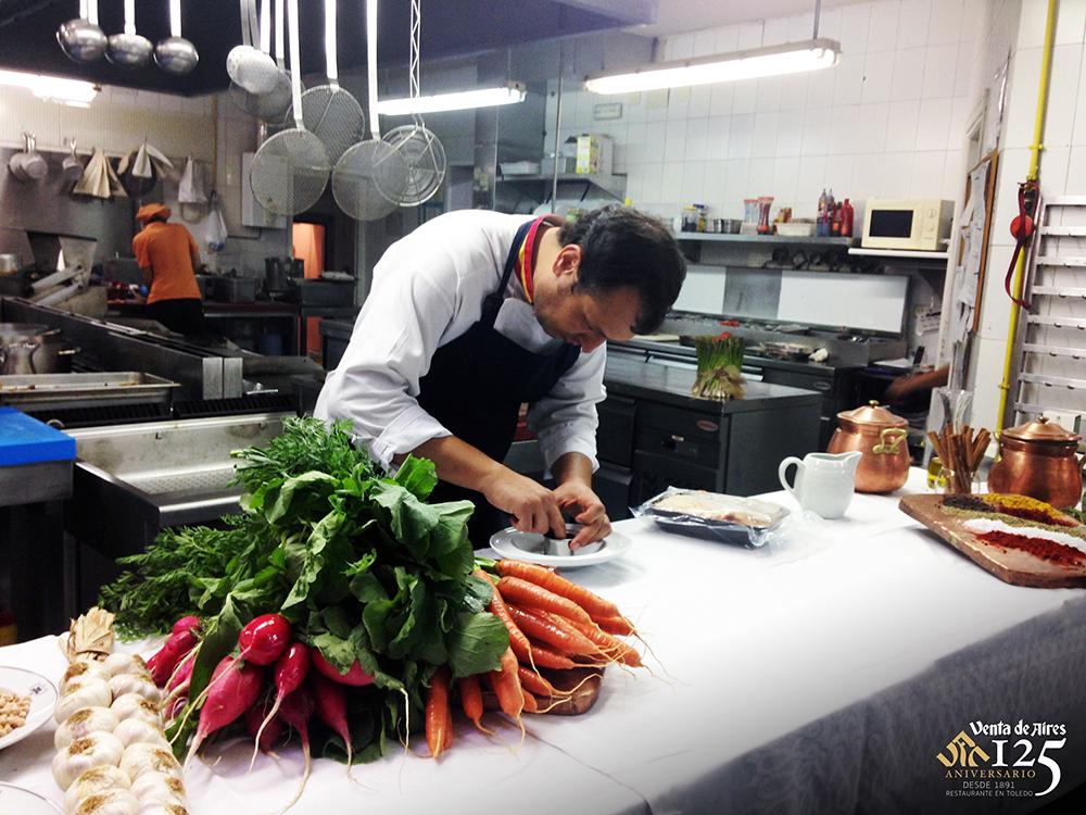 Capitalidad gastronómica 2016. Restaurante Venta de Aires