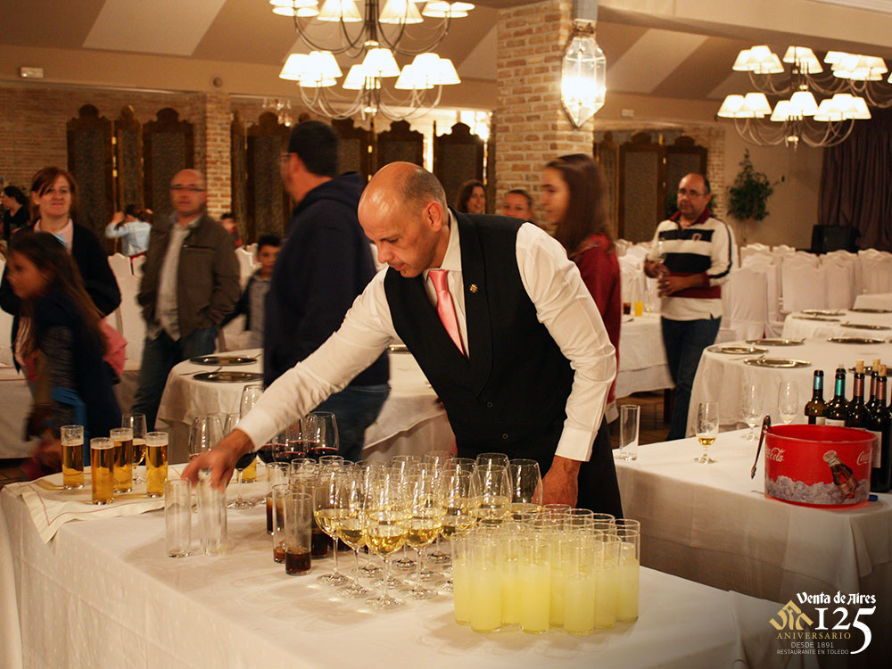 Cocktail Venta de AIres Restaurante Toledo