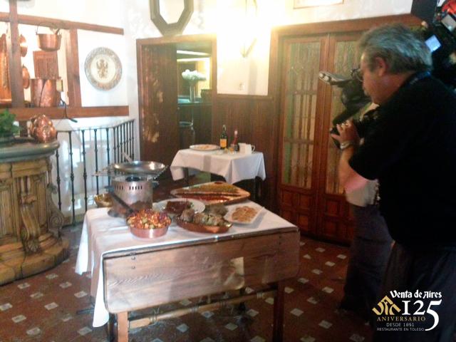 Directo en TVE de Restaurante de Toledo. Venta de Aires