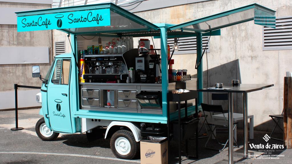 Food truck en Farcama Toledo. Venta de Aires