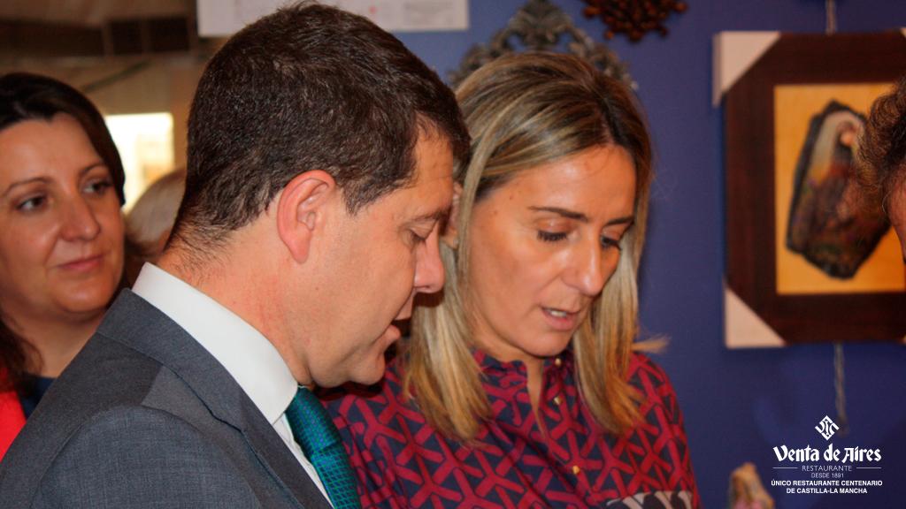 Emiliano García Page y Milagros Tolón en Farcama 2015