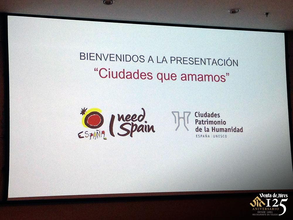 Presentación del vídeo Ciudades patrimonio. Toledo. Venta de Aires