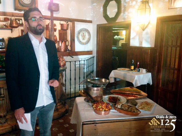 Restaurante de Toledo en TVE