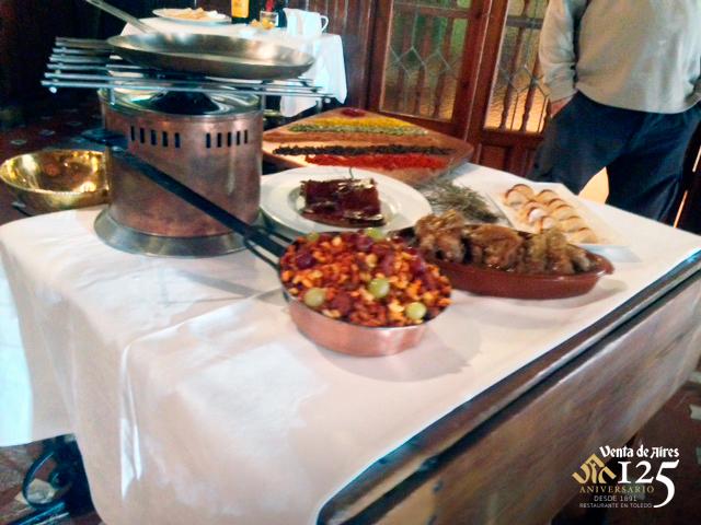 TVE en directo. Restaurantes de Toledo