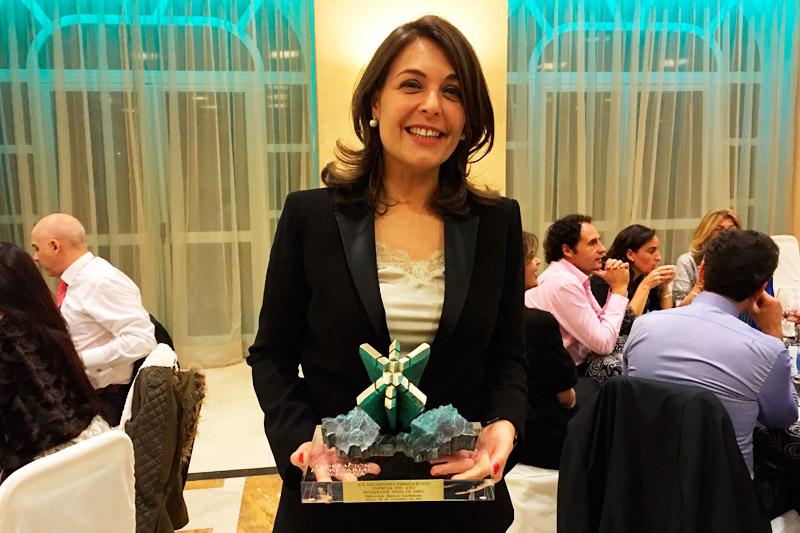 Cuca Díaz de la Cuerda, directora del Restaurante Venta de Aires