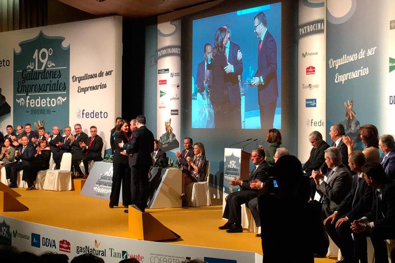 Entrega de premios Fedeto. Toledo