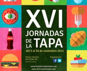 Folleto de la Jornada de la Tapa de Toledo. Venta de Aires
