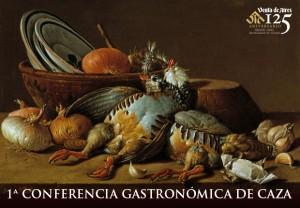 Conferencia de gastronomía sobre la Caza en Toledo. Venta de Aires