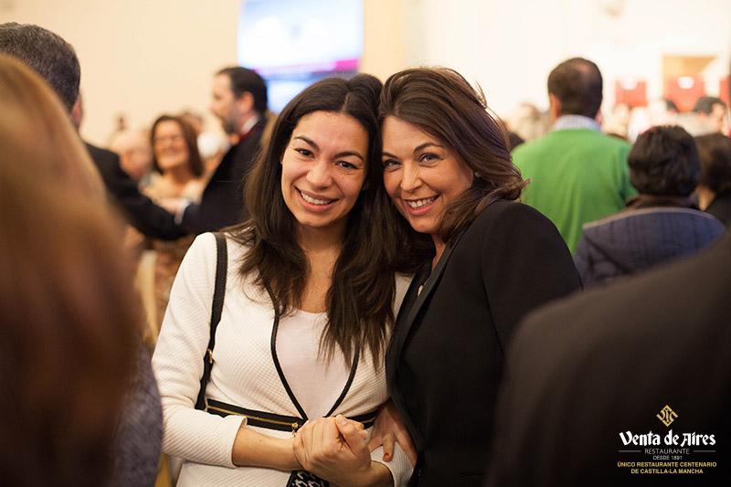 Claudia Alonso y Cuca Díaz de la Cuerda. Toledo