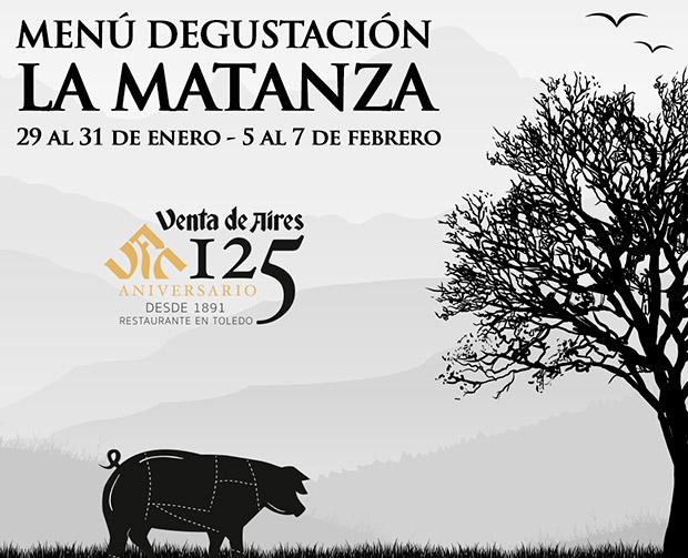 Jornadas de la matanza y el cerdo en Toledo. Restaurante Venta de Aires