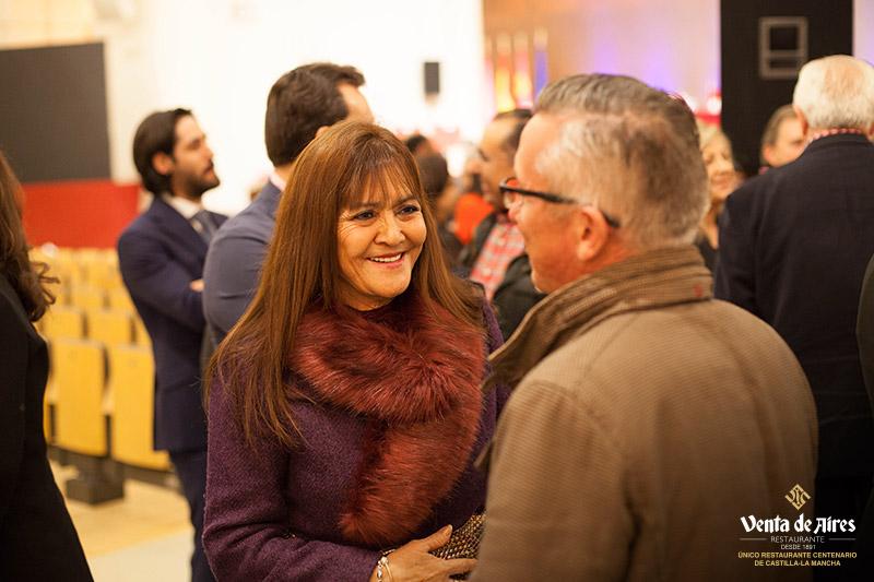 Luis Botín en premios Venta de Aires