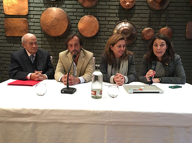 Conferencia de caza en Toledo. Restaurante Venta de Aires