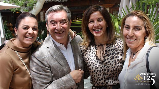 Caridad Redondo, Miriam Galiano, Gema Rodríguez y José Luis Humanes