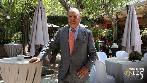 Carlos falcó, Marqués de Griñón en Venta de Aires