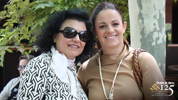 Carmen Díaz Muchi y Miriam Galiano