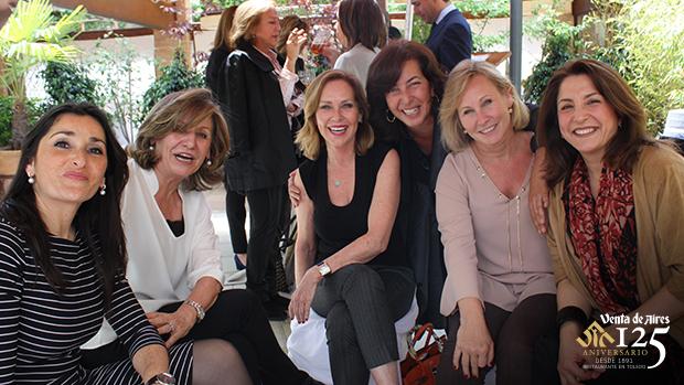 Inés Gárate, Keterina, Carla Avilés, Ana Rodríguez. Jayne Toledo Venta de Aires