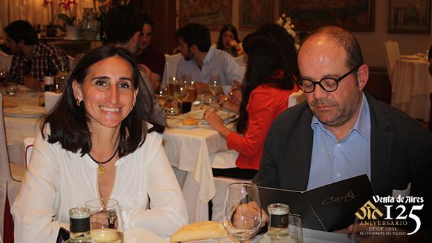 Charo francés y eduardo fontecha Toledo. Restaurante venta de aires
