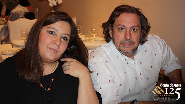 Larri y Pilar Toledo