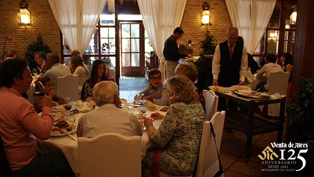 Restaurante típico en Toledo