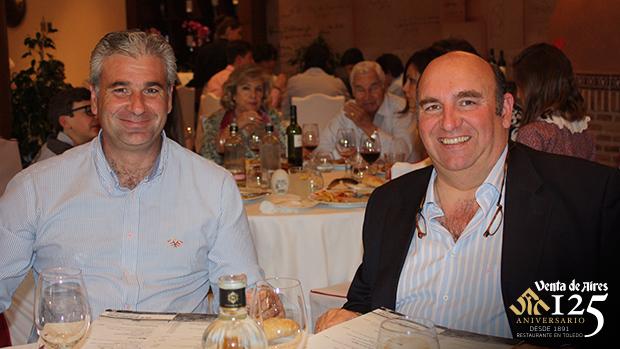 Roberto Carrasco y Manuel Sánchez Toledo